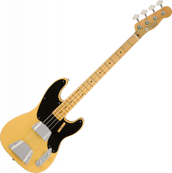 Solid body electric bass Fender Custom Shop Vintage Custom 1951 Precision Bass (MN) - Nos nocaster blonde