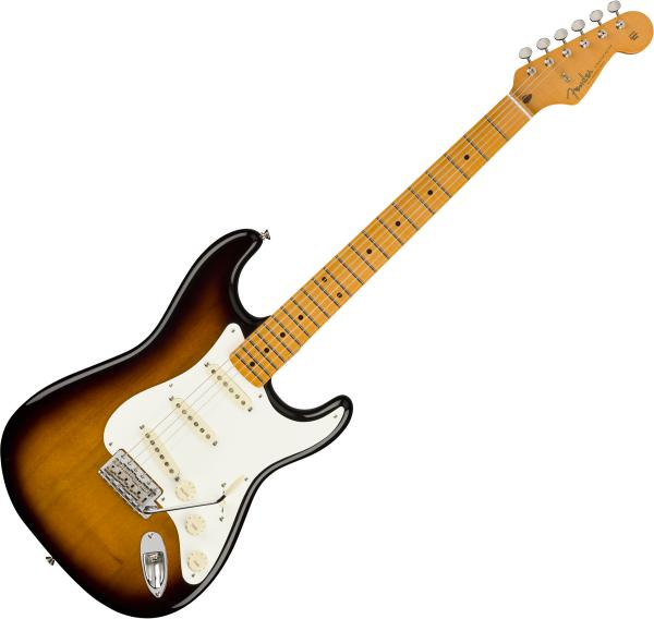 Solid body electric guitar Fender Stories Collection Eric Johnson 1954 Virginia Stratocaster (USA, MN) - 2-color sunburst
