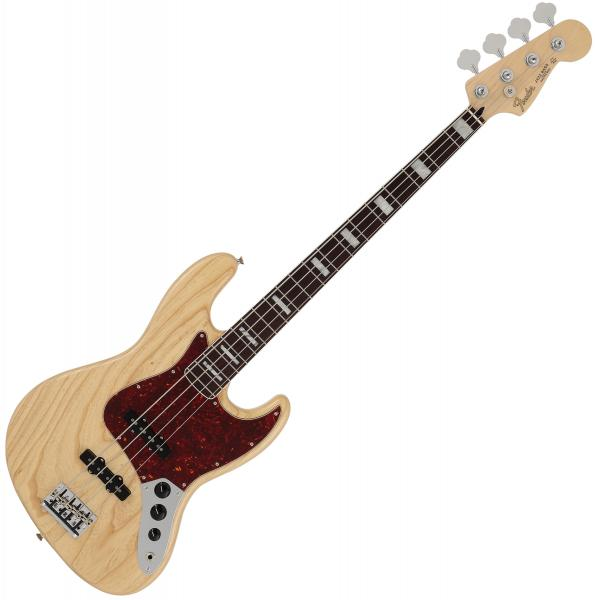 Solid body electric bass Fender Jazz Bass MIJ Ltd 2020 (Japan, RW) - Natural