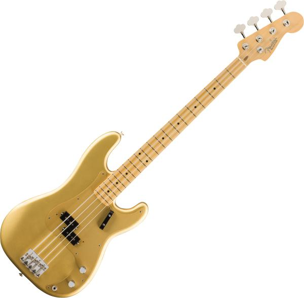 Solid body electric bass Fender American Original '50s Precision Bass (USA, MN) - aztec gold