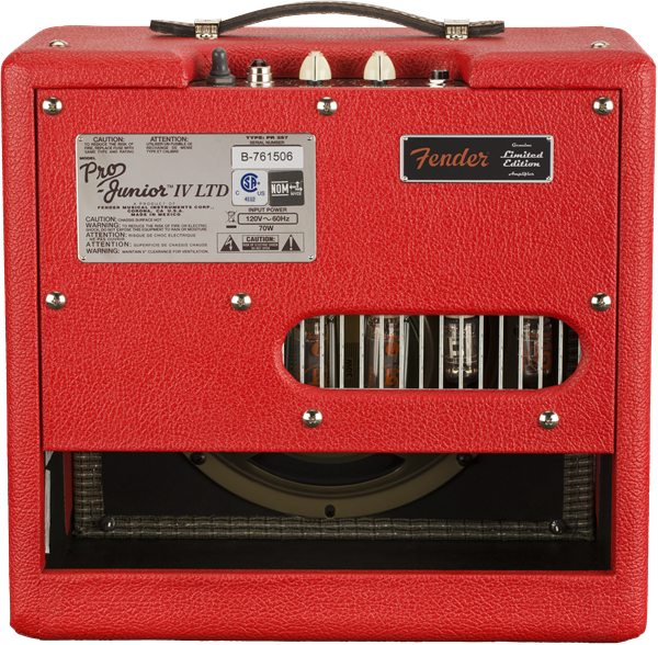 Electric guitar combo amp Fender Pro Junior IV - Fiesta Red