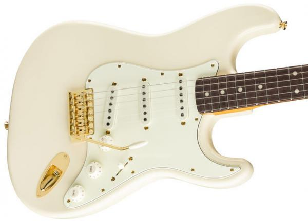 Solid body electric guitar Fender Daybreak Stratocaster Ltd 2019 (Japan, RW) - olympic white