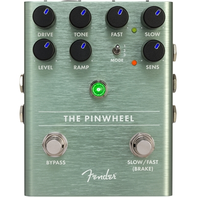 Modulation, chorus, flanger, phaser & tremolo effect pedal Fender The Pinwheel