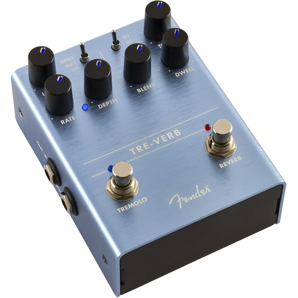 Reverb, delay & echo effect pedal Fender Tre Verb