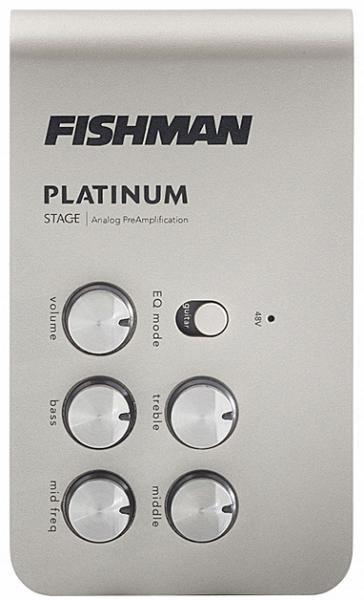 Acoustic preamp Fishman                        Platinum Stage EQ/DI Analog Preamp
