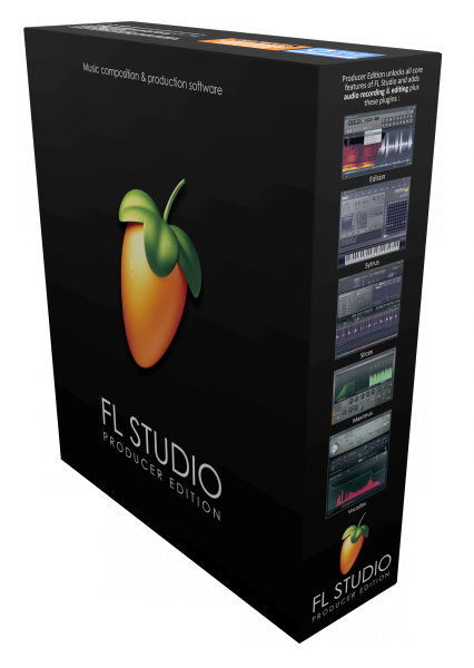 Sequencer sofware Image line FL Studio 20 Producer Edition