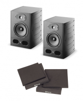 Home studio set Focal Alpha 65 (la paire) + pads