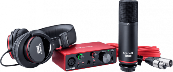 Home studio set Focusrite Scarlett 3 Solo Studio