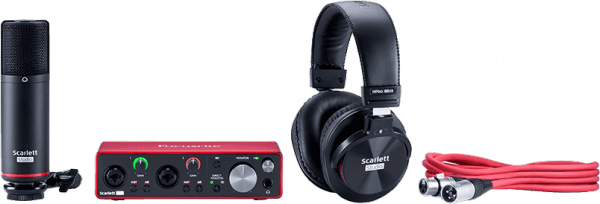 Home studio set Focusrite Scarlett 3 2i2 Studio