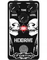 Overdrive, distortion & fuzz effect pedal Fortin amps Hexdrive