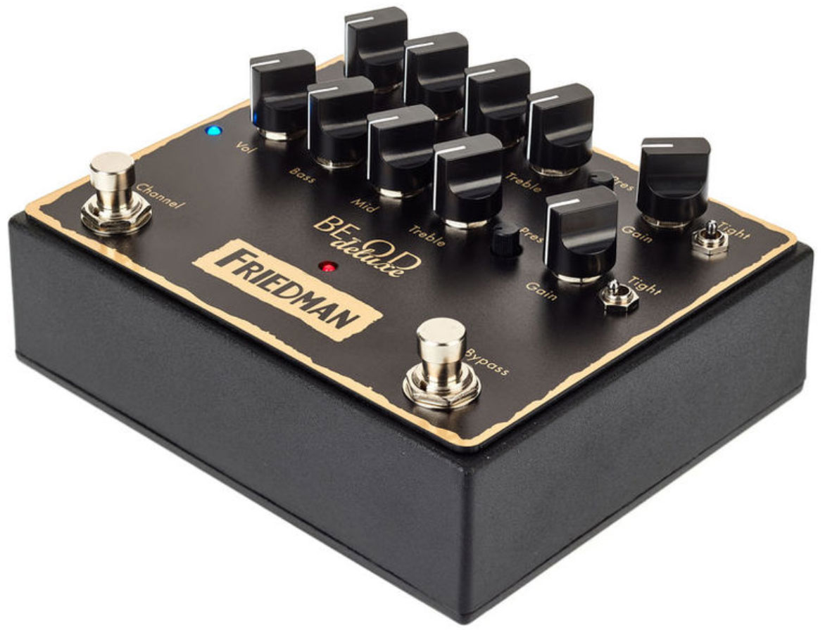 friedman amplification be od deluxe overdrive overdrive distortion fuzz effect pedal star 39 s. Black Bedroom Furniture Sets. Home Design Ideas