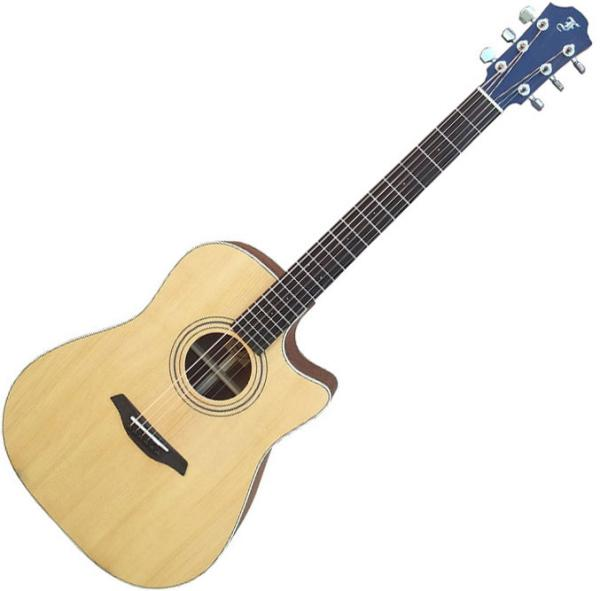 Acoustic guitar & electro Furch Millenium D21-SW Cut LR Baggs EAS - Natural