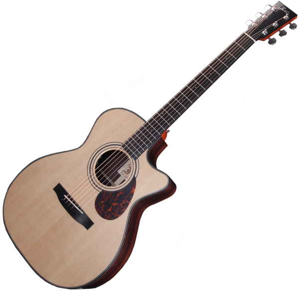 Acoustic guitar & electro Furch Vintage Line OM31-SR Cut LRB1 - Natural gloss