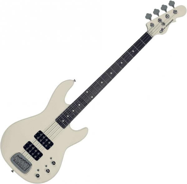Solid body electric bass G&l Tribute L-2000 (RW) - Olympic white