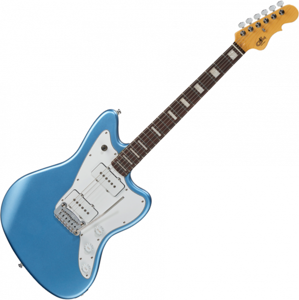 Solid body electric guitar G&l Tribute Doheny - Lake placid blue