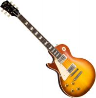 Solid body electric guitar Gibson Custom Shop 1958 Les Paul Standard Reissue 2019 Left Hand - Vos royal teaburst