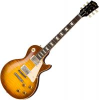 Solid body electric guitar Gibson Custom Shop 60th Anniversary 1959 Les Paul Standard (Bolivian RW) - Vos royal teaburst