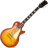 Solid body electric guitar Gibson Custom Shop 1960 Les Paul Standard Reissue 2019 - Vos washed cherry sunburst