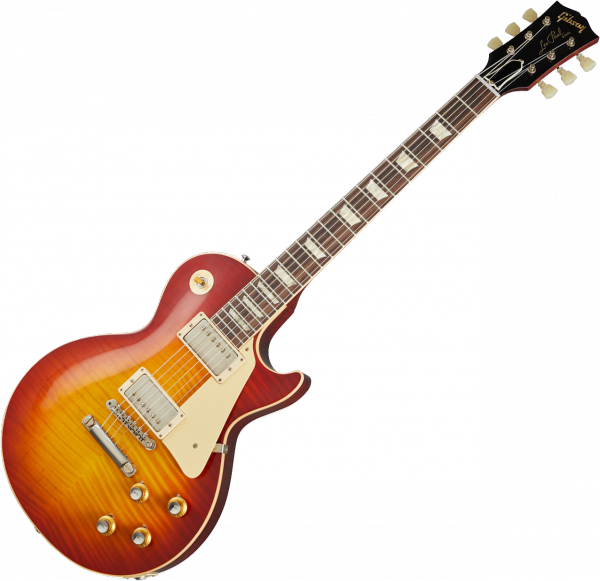Solid body electric guitar Gibson Custom Shop 60th Anniversary 1960 Les Paul Standard V2 - vos tomato soup burst