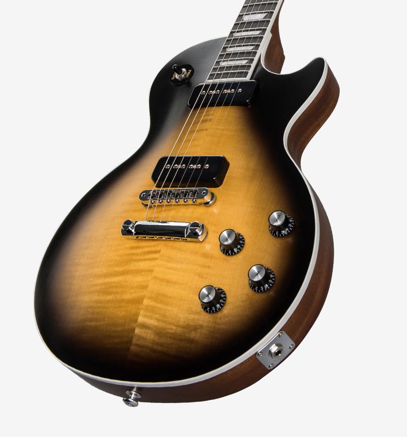gibson les paul classic player plus 2018 satin vintage sunburst solid body electric guitar. Black Bedroom Furniture Sets. Home Design Ideas