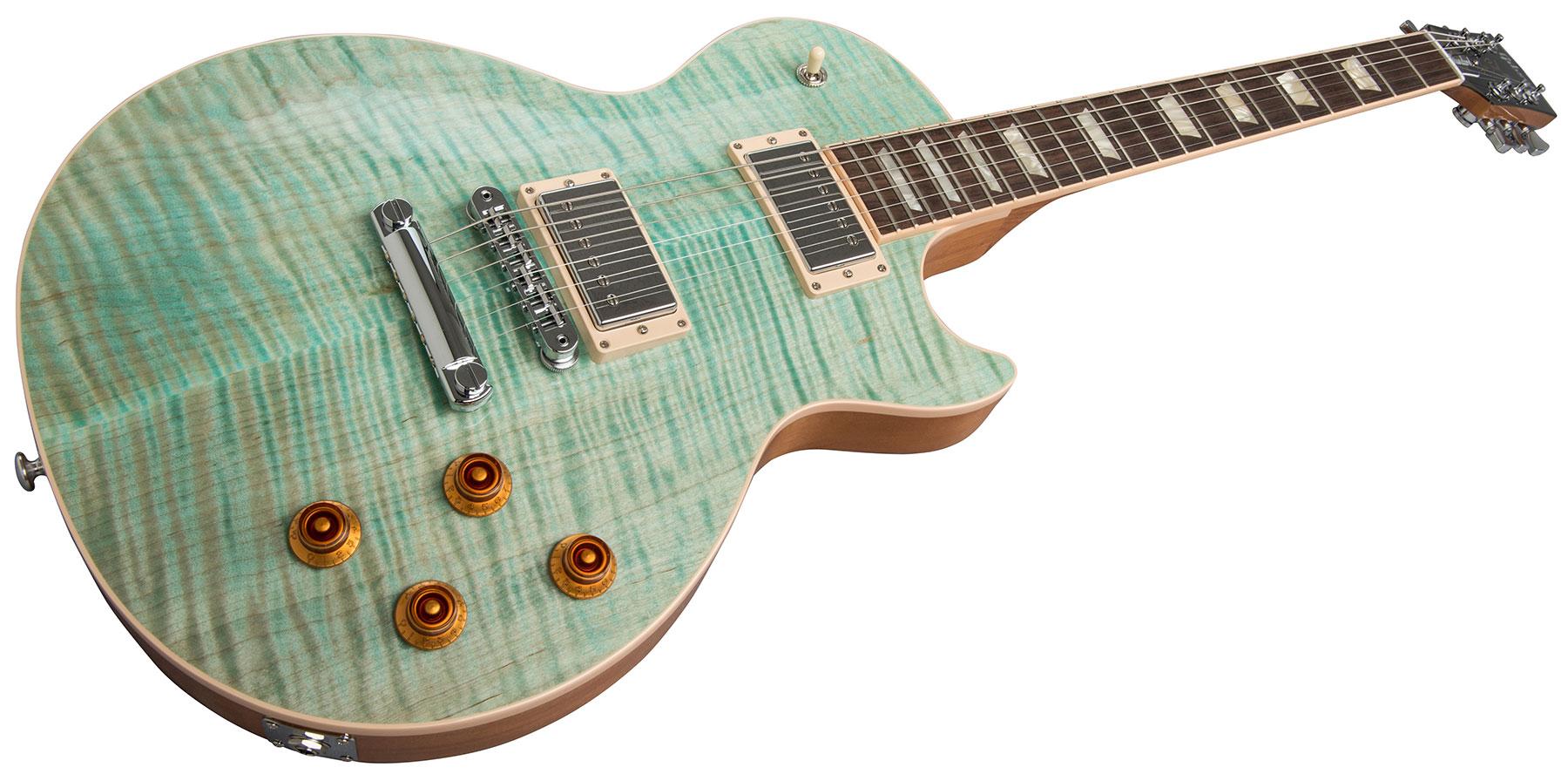Gibson Les Paul Seafoam Green : gibson les paul standard 2019 seafoam green solid body electric guitar green star 39 s music ~ Hamham.info Haus und Dekorationen