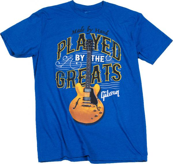 T-shirt Gibson Played By The Greats T Royal Blue - L