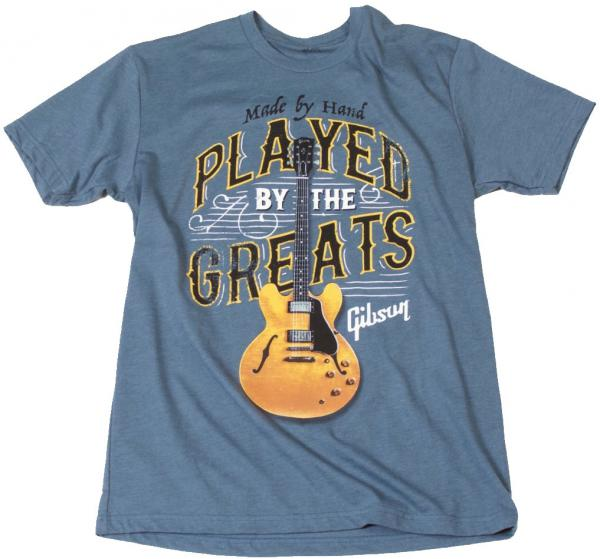 T-shirt Gibson Played By The Greats T Indigo - S