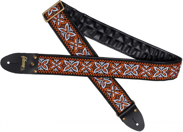 Guitar strap Gibson The Orange Lily Guitar Strap