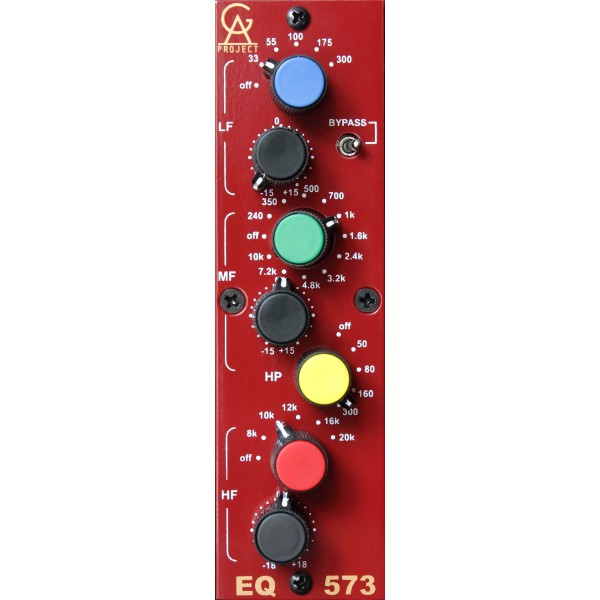 Equalizer / channel strip Golden age project EQ-573