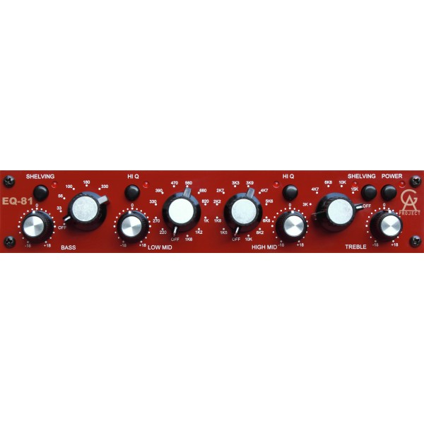 Equalizer / channel strip Golden age project EQ-81