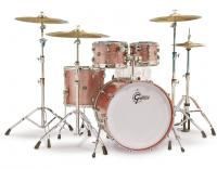 Jazz drum kit Gretsch Renown RN2-E8246 2016 - 4 shells - Copper sparkle