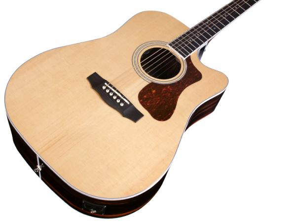Acoustic guitar & electro Guild D-260CE Deluxe Westerly - natural