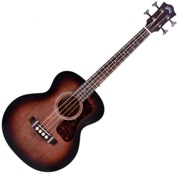 Acoustic bass Guild Jumbo Junior Bass Westerly - Antique charcoal burst
