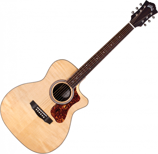 Acoustic guitar & electro Guild OM-250CE Reserve Westerly - Natural