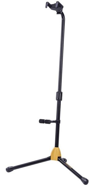 Stand for guitar & bass Hercules stand GS412B Plus Floor Single Guitar Stand