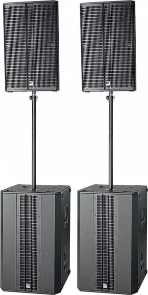 Complete pa system Hk audio Linear 5 Pack Power
