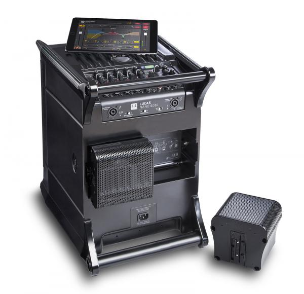 Complete pa system Hk audio Lucas Nano 608i