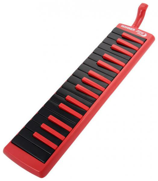 Melodica Hohner C943274 Melodica Fire 32 Rouge Noir