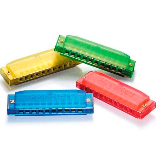 Blow in instruments Hohner Harmonica Happy Colors Kids