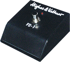Amp footswitch Hughes & kettner FS1