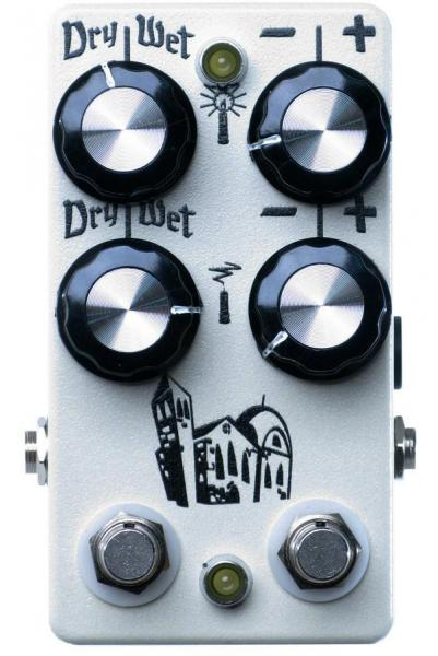 Harmonizer effect pedal Hungry robot pedals The Monastery Polyphonic Octave