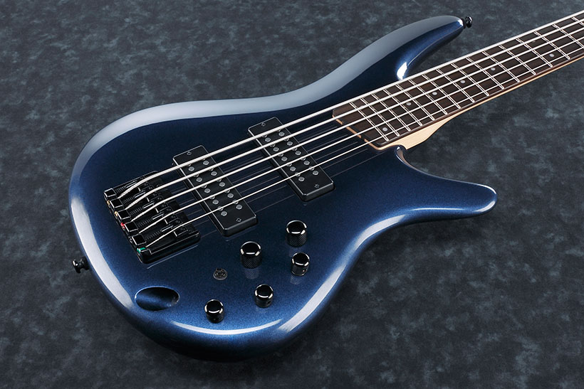 Ibanez Sr305e Bnm Navy Metallic Solid Body Electric Bass Blue