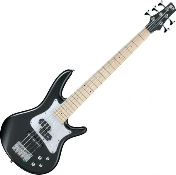 Electric bass for kids Ibanez SRMD205 BKF Mezzo - black flat