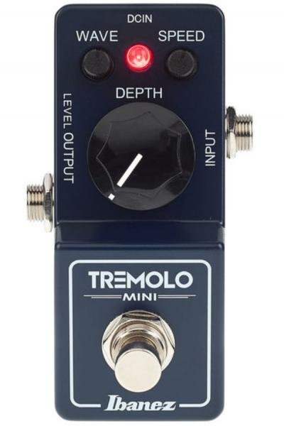Modulation, chorus, flanger, phaser & tremolo effect pedal Ibanez TRMINI Tremolo