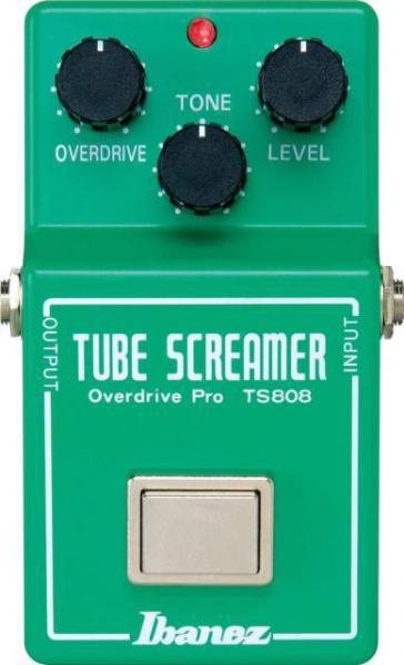 Overdrive, distortion & fuzz effect pedal Ibanez Tube Screamer TS808