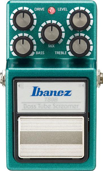 Overdrive, distortion, fuzz effect pedal for bass Ibanez Tube Screamer TS9B Bass