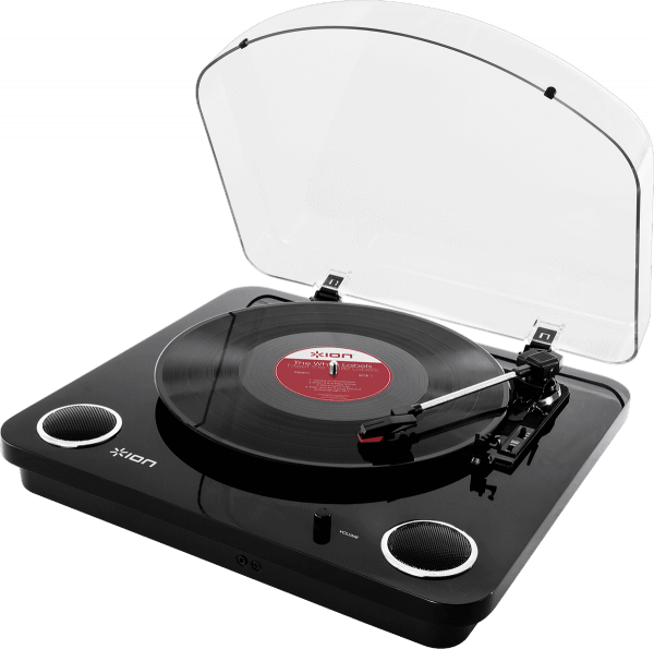 Turntables hifi Ion Max Lp Black