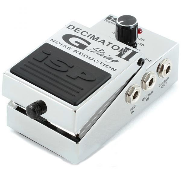 Compressor, sustain & noise gate effect pedal Isp technologies Decimator G-String II Noise Reduction