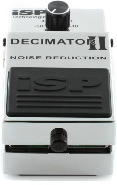 Compressor, sustain & noise gate effect pedal Isp technologies Decimator II Noise Reduction