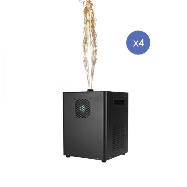 Confetti & firework machine J.collyns Strawfire XL 4Pack